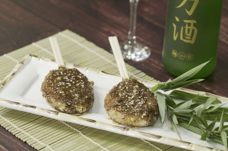 goheimochi Receita da Província de Gifu | Gohei Moti
